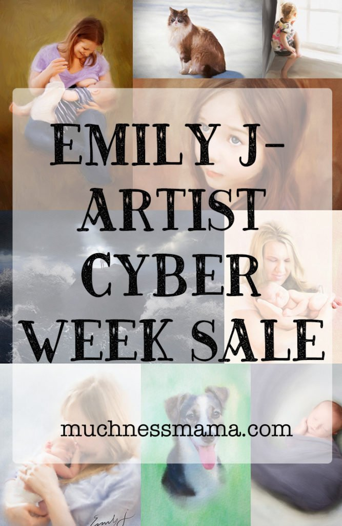 Emily J- Artist Cyber week Sale 2018 | muchnessmama.com | etsy sale | christmas sale | Black Friday sale